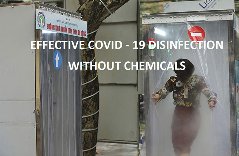 Mobile Disinfectant Cabin